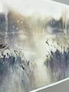 Watercolor Seascape Painting Marta Spendowska New England Landscape Marshland 1 22x15in