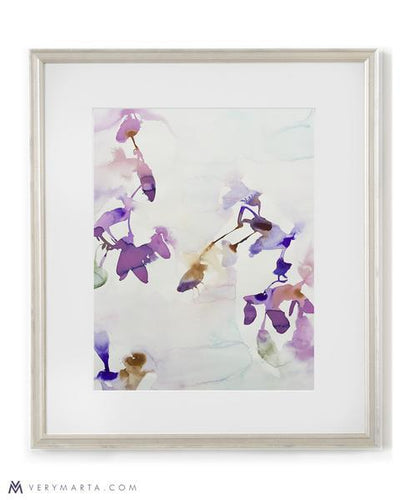 Botanical Art Print giclee watercolor flora Marta Spendowska Verymarta Botanical Art Print: Flora 7