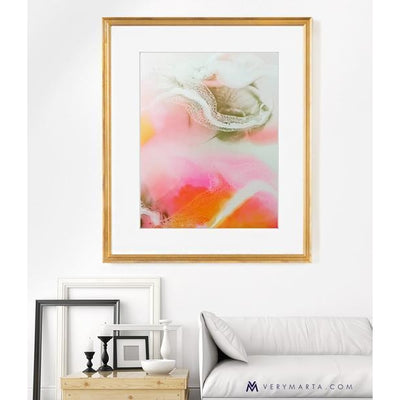 Abstract Art Prints giclee watercolor Marta Spendowska verymarta Abstract Art Print: High Spirit