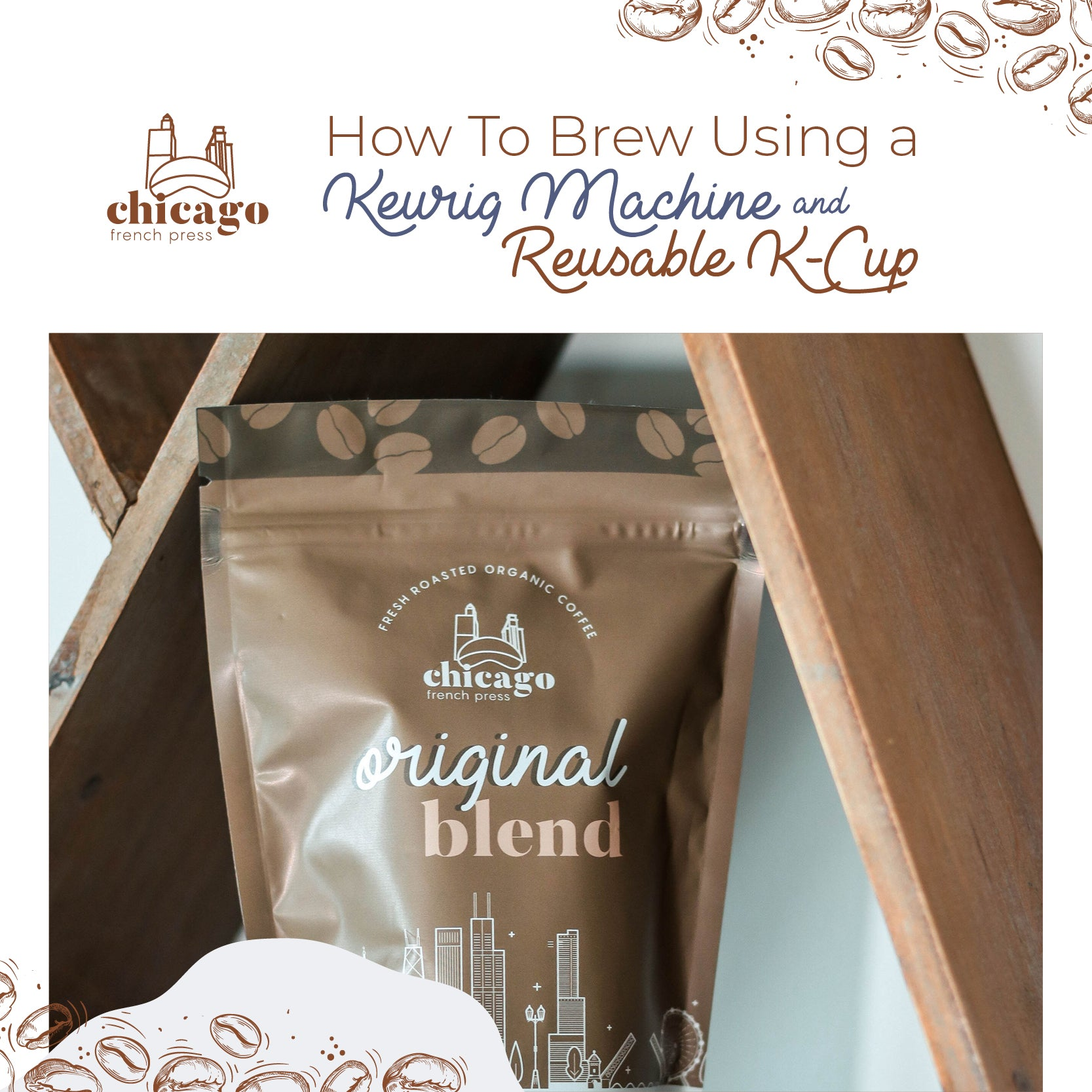How to Brew CFP Coffee Using Keurig and Reusable K Cup