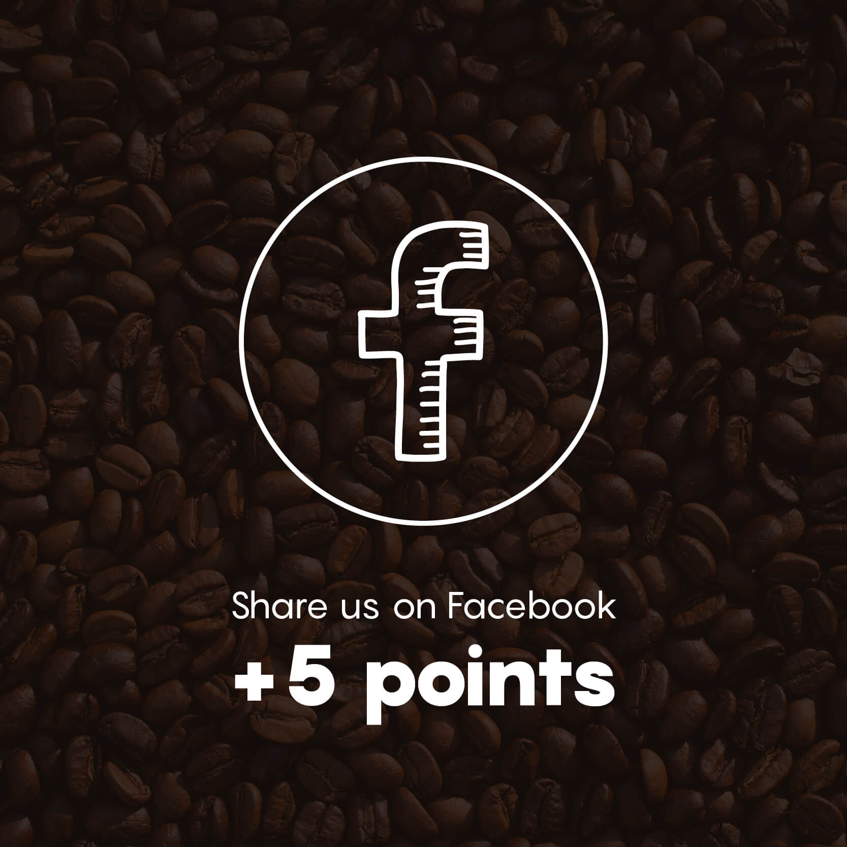 Share us on Facebook +5 Points