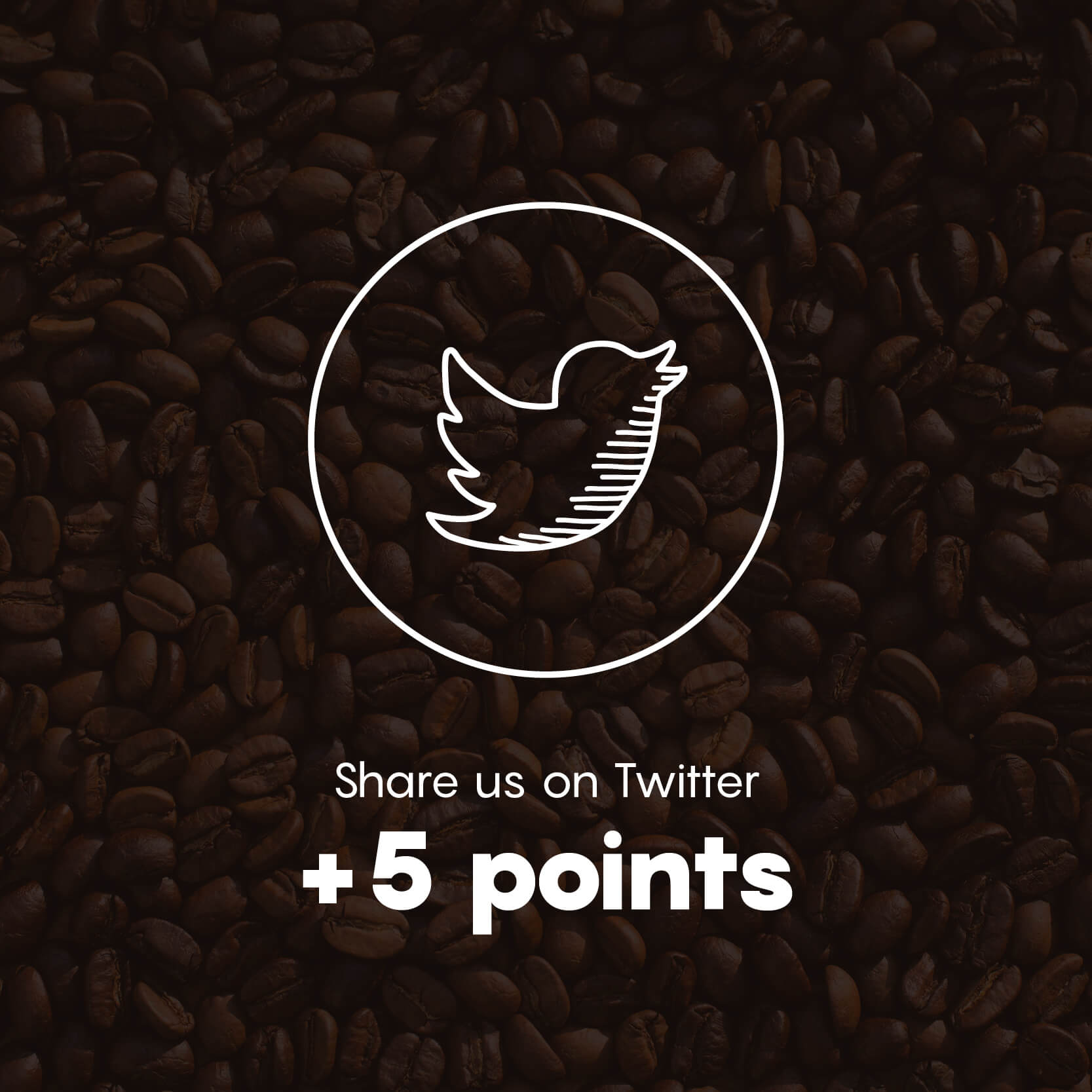Share us on Twitter +5 Points