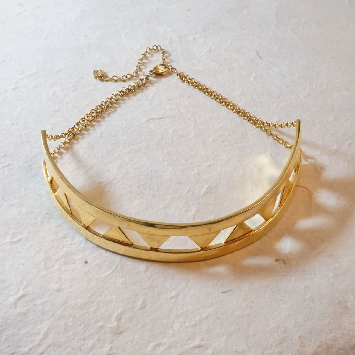 Riddle Gold Choker
