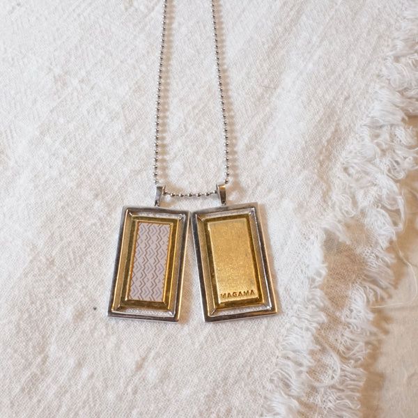 Lex Two Tone Necklace