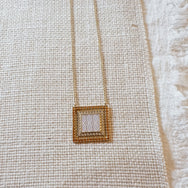 Uptown Gold Necklace