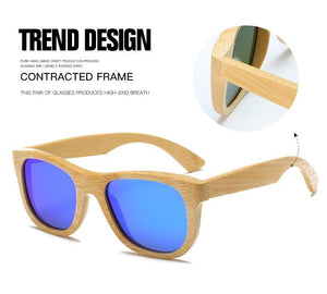 Handmade Wood Mirror Sunglasses Glasses
