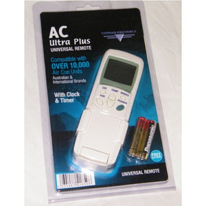 AC Ultra Plus Universal Remote Control for split system air conditioners