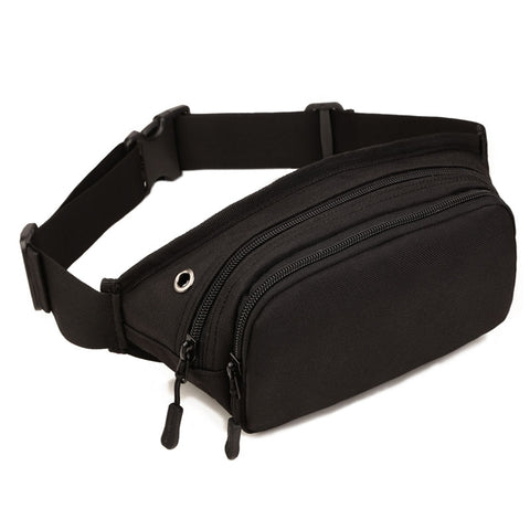 [50% Off Deal] New Waterproof Black Fanny Pack