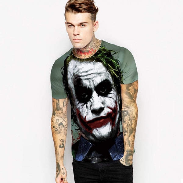 [50% Off Deal] Classic Heath Ledger Joker T-shirt