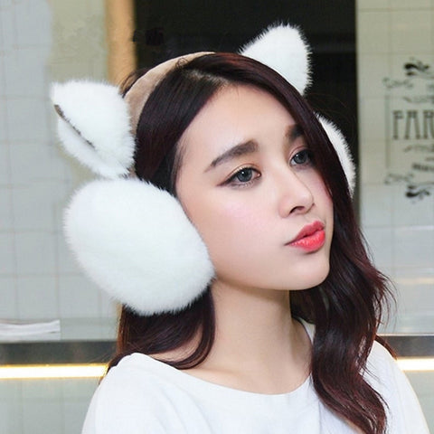 [50% Off Deal] Cute Winter Warm Bunny Earmuffs