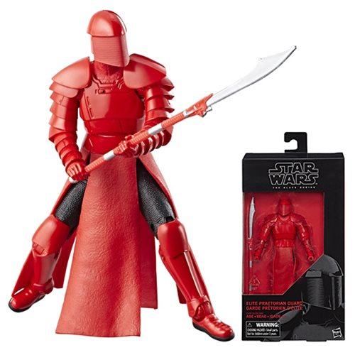 Star Wars Black Series 6 Inch The Last Jedi Elite Praetorian Guard