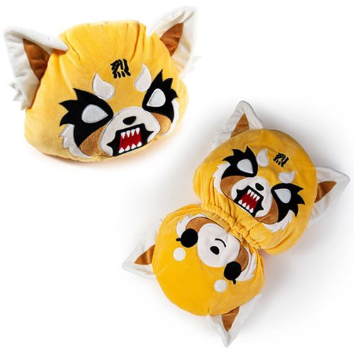 Aggretsuko Reversible Face Medium Plush