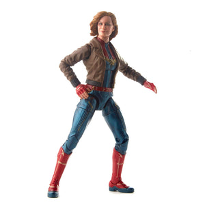 Captain Marvel Marvel Legends Series Captain Marvel in Bomber Jacket 6-Inch Action Figure