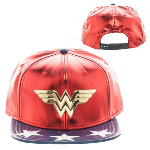 DC Wonder Woman PU Suit Up Snapback Hat