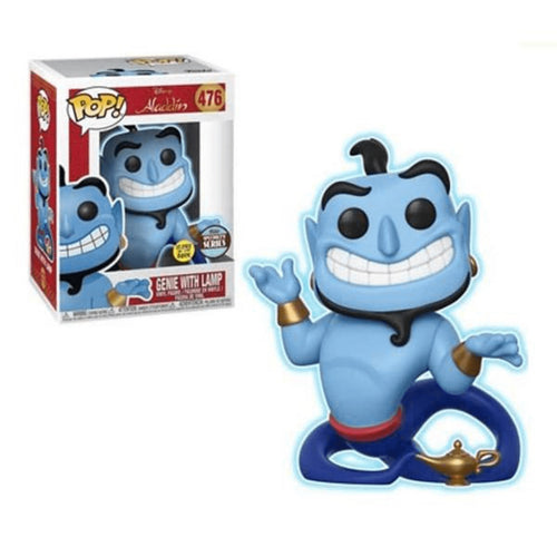 Disney Aladdin Genie w Lamp (Glow in The Dark) Funko Specialty Series Pop! Vinyl