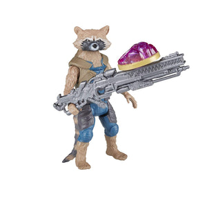 Marvel Avengers Infinity War Rocket Raccoon & Groot with Infinity Stone