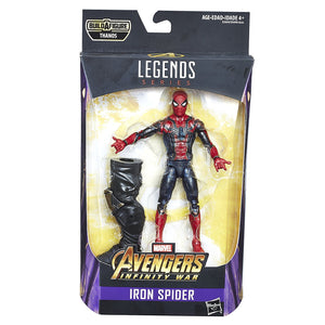 Marvel Legends Avengers Infinity War Thanos Series Iron Spider