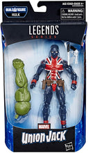 "Marvel Legends Union Jack 6"" Collectible Action Figure Toy"