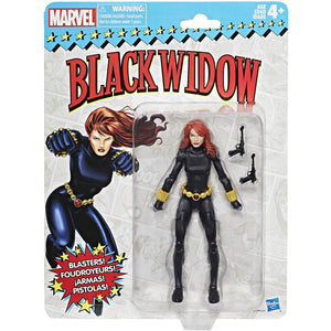 Marvel Retro 6-inch Collection Black Widow Figure