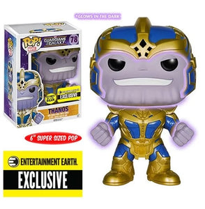 Marvel Thanos Glow-in-the-Dark 6-Inch Pop! Vinyl Bobble Head Figure