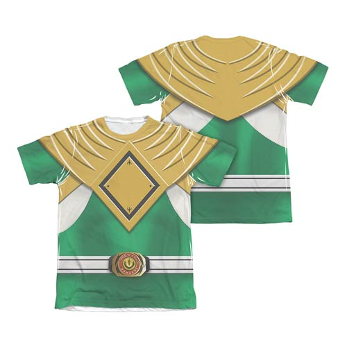 Mighty Morphin Power Rangers Green Ranger T-Shirt