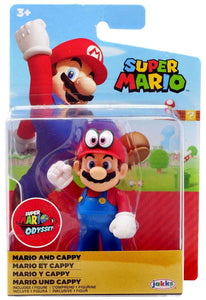 "Nintendo Mario and Cappy Super Mario Odyssey 2.5"" Action Figure"