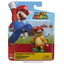 "Nintendo Super Mario Cappy Hammer Bro 4"" Articulated Figure with Hammer"