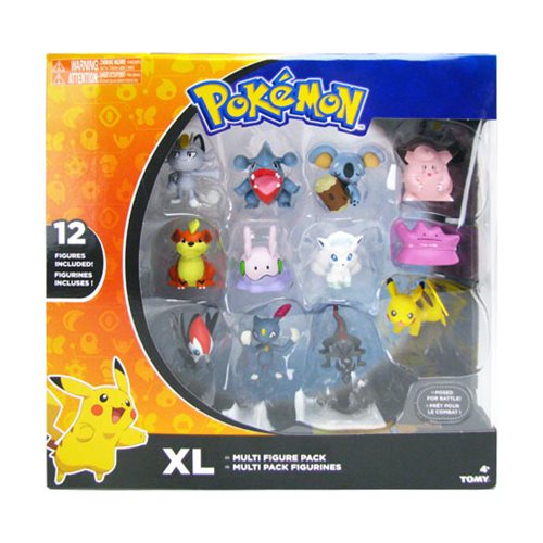 Pokemon Figure Extra-Large Multipack Case