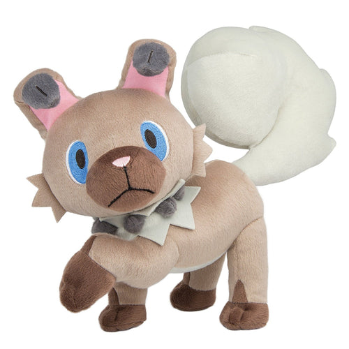 Pokemon Rockruff 8 inch Plush
