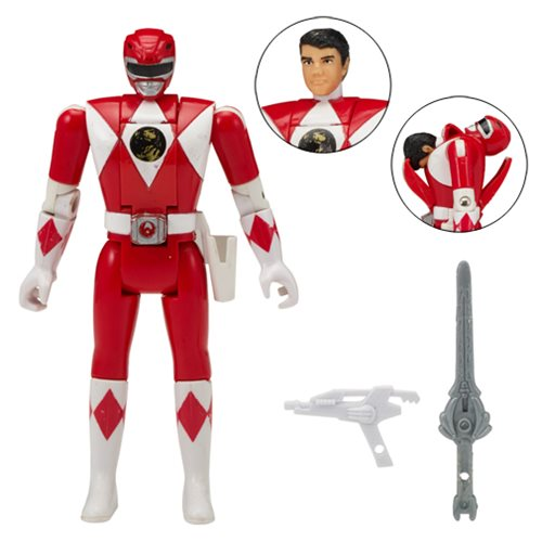 Power Rangers Legacy Red Ranger Head Morph Action Figure