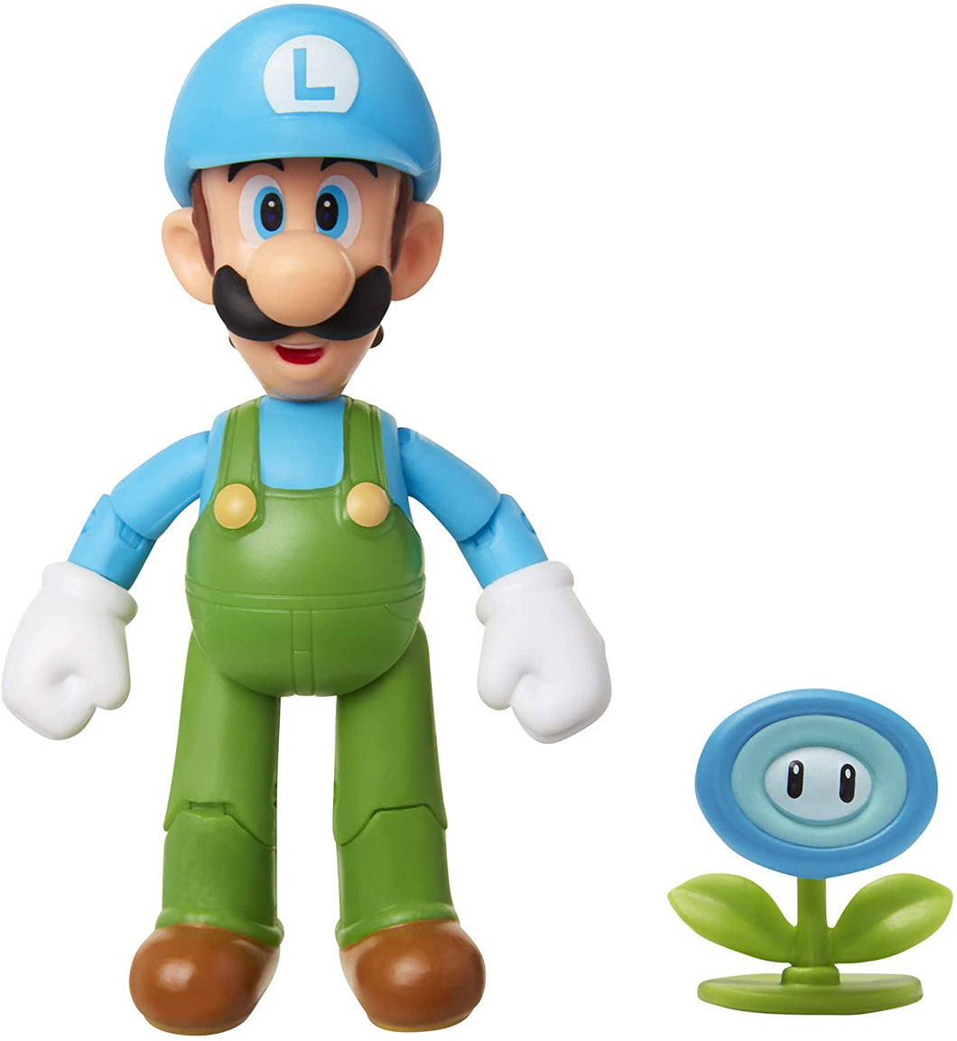 SUPER MARIO Nintendo Collectible Ice Luigi 4