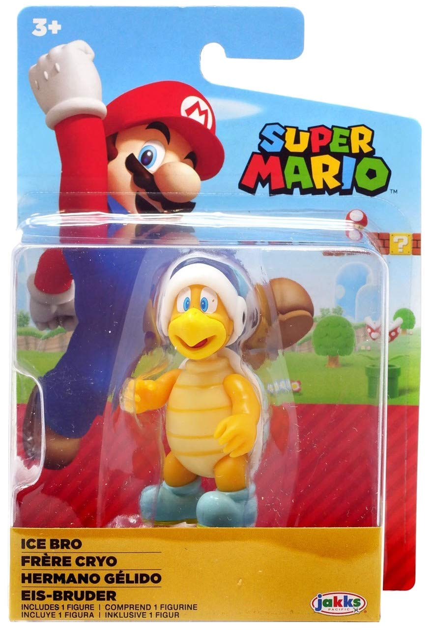 SUPER MARIO Ice Bro Action Figure