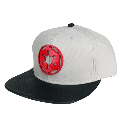 Star Wars AT-AT Driver Metal Badge Snapback Hat