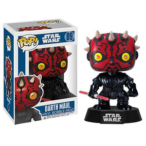 Star Wars Darth Maul Pop Vinyl Bobble Head
