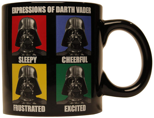 Star Wars Darth Vader Expressions 14 oz. Ceramic Mug