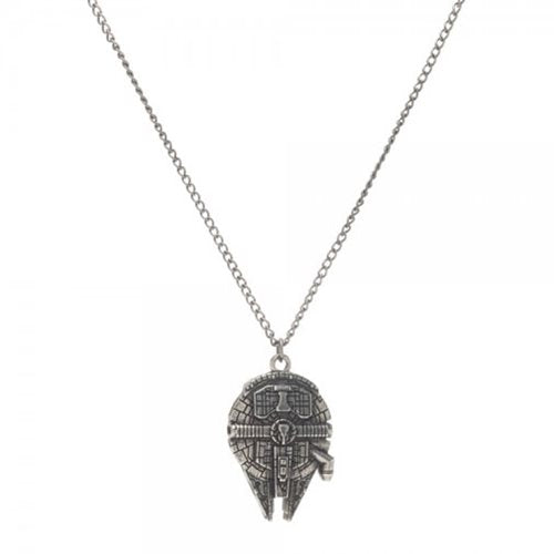 Star Wars Millennium Falcon Necklace