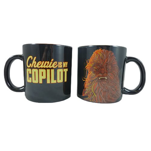 Star Wars Solo Chewie is My Copilot 20 oz. Ceramic Mug