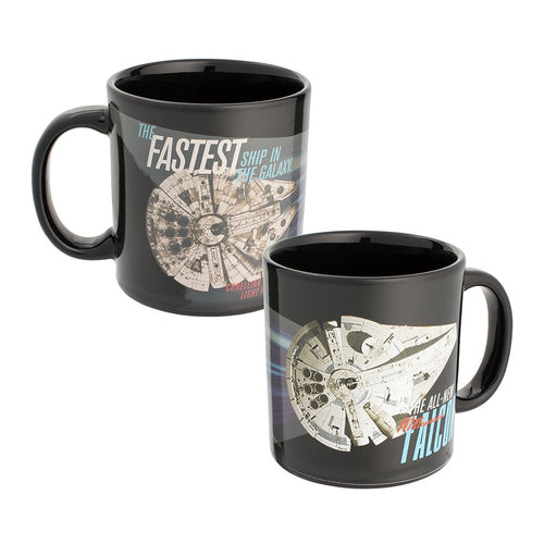 Star Wars Solo Millennium Falcon Heat-Reactive Mug