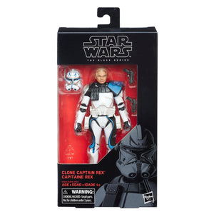 Star Wars The Black Series Captain Rex 6-Inch Action Figure