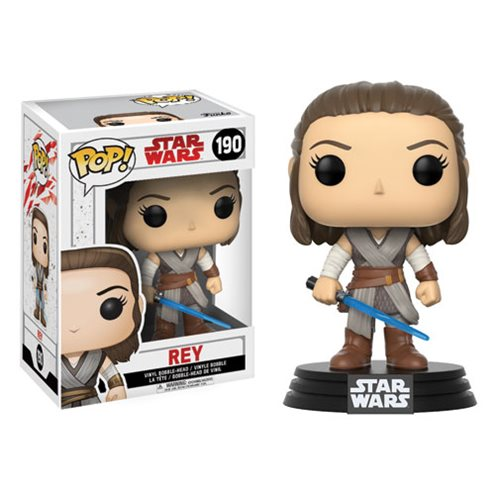 Star Wars The Last Jedi Rey Pop! Vinyl Bobble Head #190