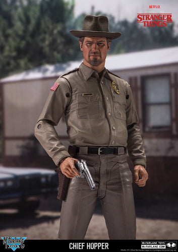 Stranger Things Chief Hopper 7 inch Action Figure
