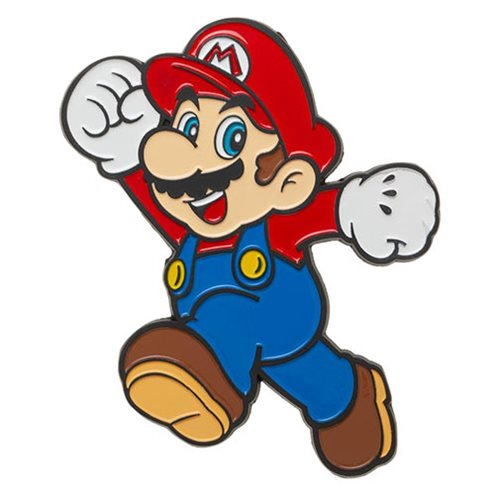 Super Mario Bros. Mario 3-Inch Lapel Pin