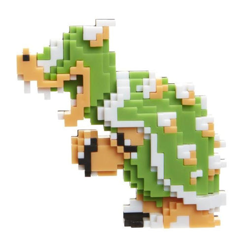 World of Nintendo Mario 2.5 inch Bowser 8 Bit