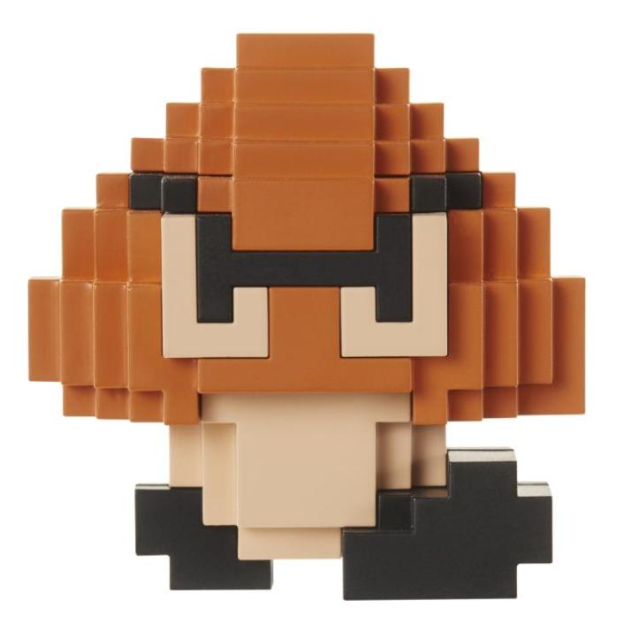 World of Nintendo Mario 2.5 inch Goomba 8 Bit