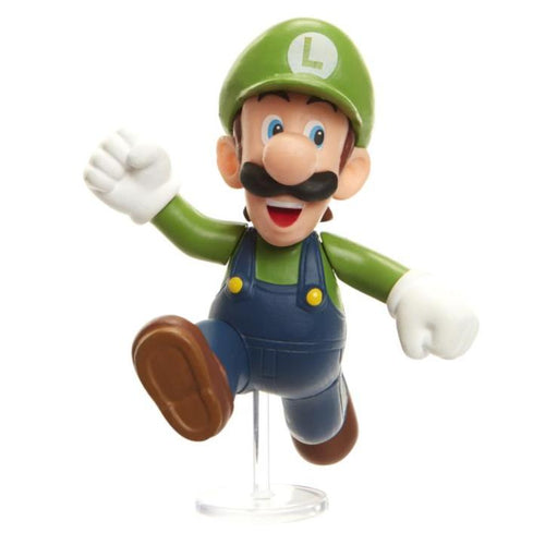 World of Nintendo Super Mario 2.5 inch Luigi  (running)
