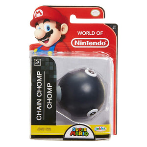 World of Nintendo Super Mario Chain Chomp 2.5-Inch Mini Figure