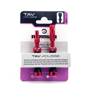 MOMUM TAV Mousse Valves 50 mm Round Base