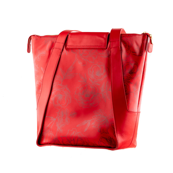 Concealed Carry Ballistic Armor Shopping Bags in Red