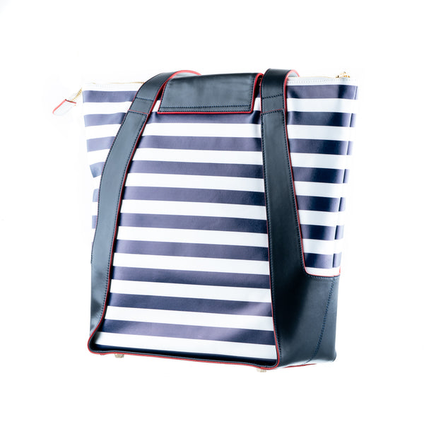 Concealed Carry Ballistic Armor Shopping Bags in Stripes
