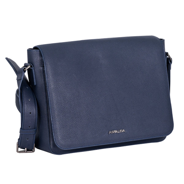 Concealed Carry Messenger Bag in Navy